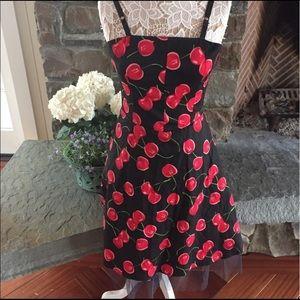 Cherry retro dress